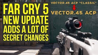 Far Cry 5 Secrets - Ubisoft Secretly Adds New Item Drop, Changes Weapon Name & More (Far Cry 5 DLC)