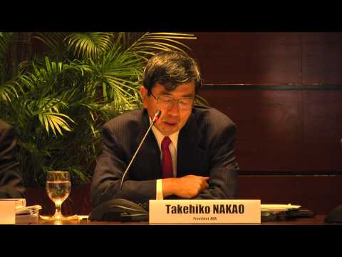 7th IPAG Meeting: Pres. Takehiko Nakao (Welcome Remarks)
