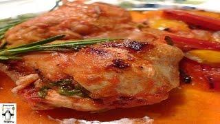 Курица тушеная с овощами.Тушеная курица со стручковой фасолью