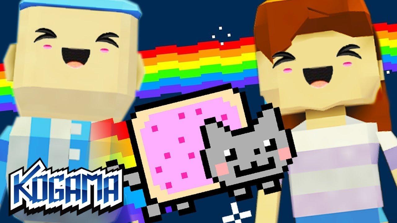 Nyan Cat Parkor Game