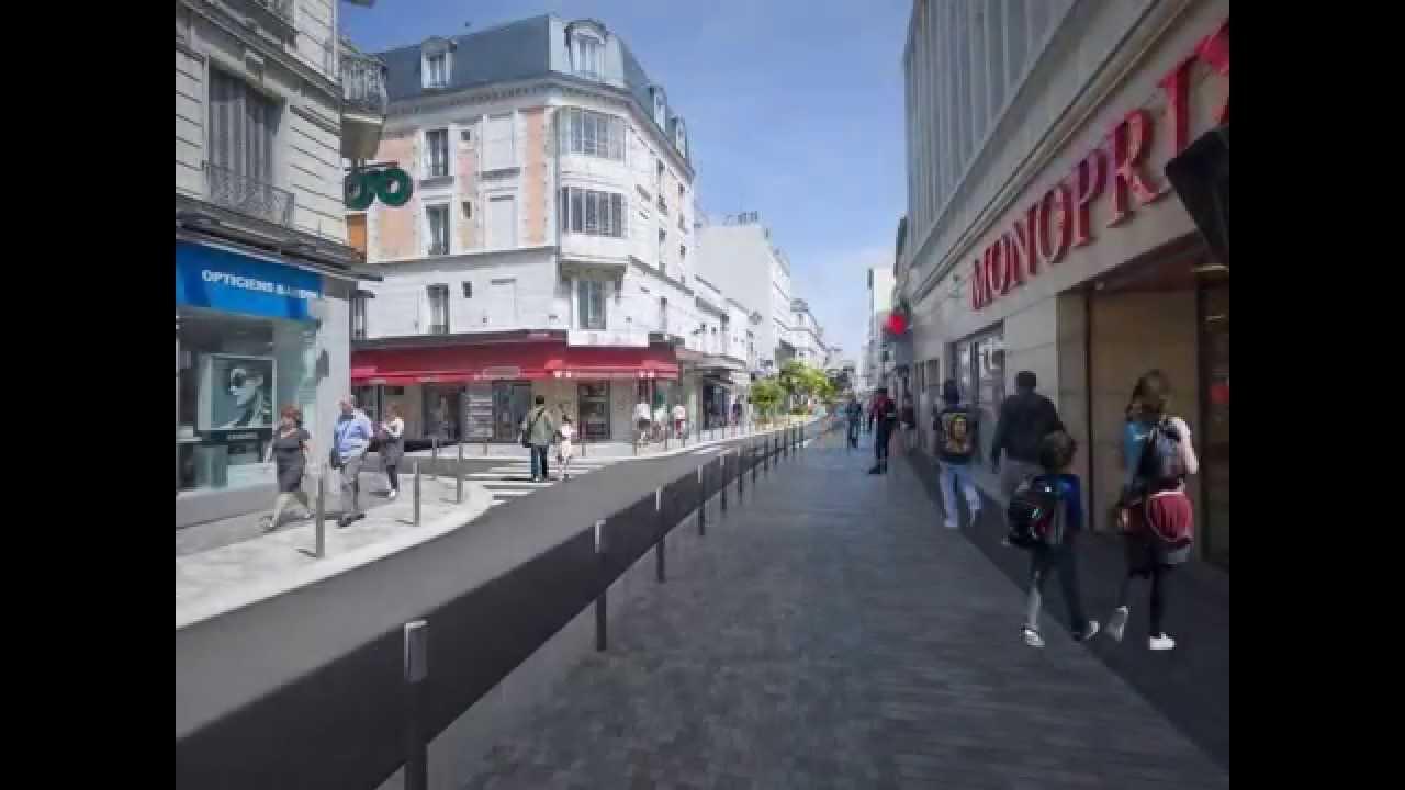 Projet de r am nagement de la rue des bourguignons bois - Piscine de bois colombes ...