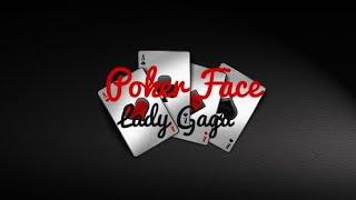 Poker Face - Lady Gaga | Lyrics Video (Clean Version)