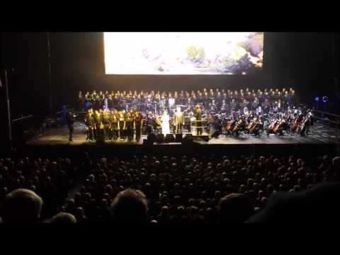 Andrea Bocelli, First Direct Leeds Arena, Nov 24th 2013 Nessun Dorma & Time to Say Goodbye