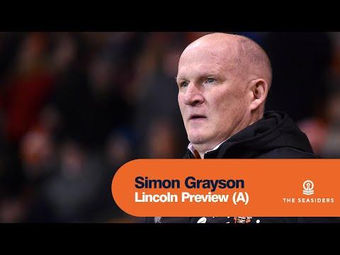 Lincoln Preview (A)   Simon Grayson
