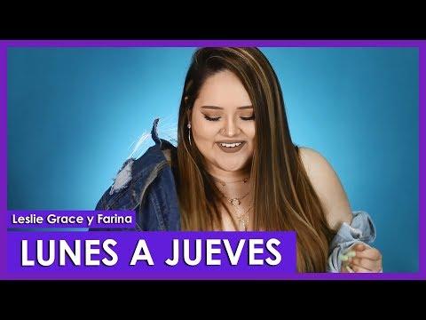 Lunes A Jueves - Leslie Grace, Farina Cover By Susan Prieto