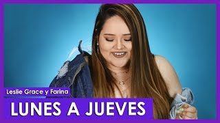 Lunes a Jueves - Leslie Grace, Farina Cover By Susan Prieto