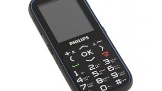 видео Philips Xenium X2301 - «Мобильный телефон для пожилых