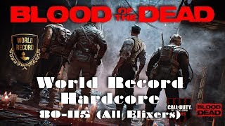 Blood of the Dead Zombies - 80-115 Hardcore (Former) World Record (All Elixers)