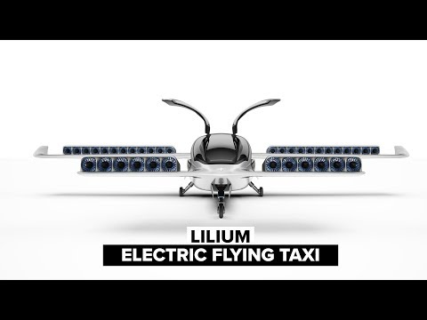 The Lilium Jet Is An All-Electric Flying Taxi For The Future