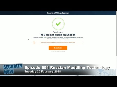 Security Now 651: Russian Meddling Technology