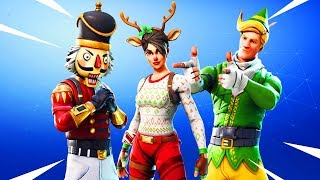 CRACKSHOT, RED NOSED RAIDER und CODENAME ELF RETURN TO FORTNITE