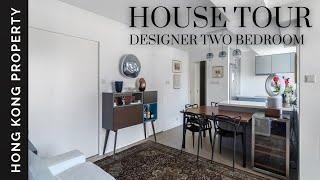 HOUSE TOUR | DESIGNER TWO BEDROOM IN TRENDY POHO | Hong Kong