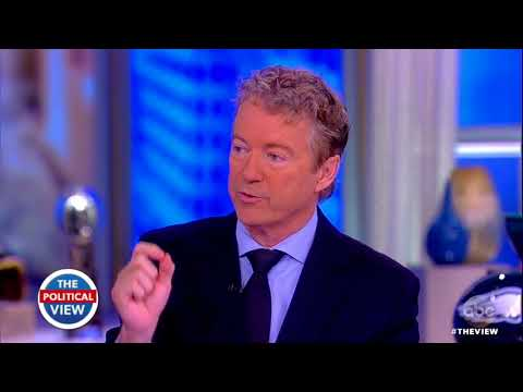 Sen. Rand Paul On Attack By Neighbor, Baseball Field Shooting, Release of Secret GOP Memo | The View