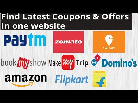 Find latest coupons & offers for online shopping sites & order food online | Save on everything