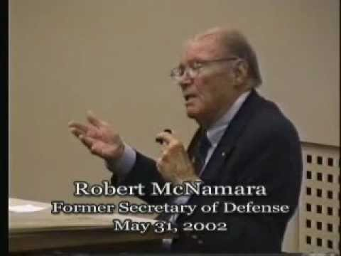 Talk - Robert McNamara - Former Secretary of Defense