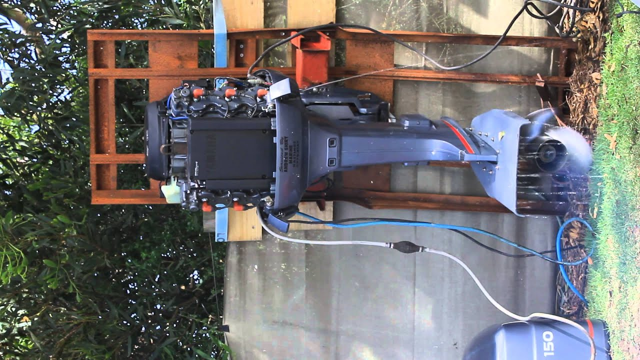 Yamaha 150 Hp Salt Water Series Outboard Motors Youtube V Wiring