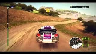 WRC 2 gameplay 2011