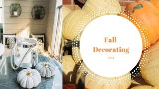 Fall Decor 2019 ( Decorate With Me!!! )