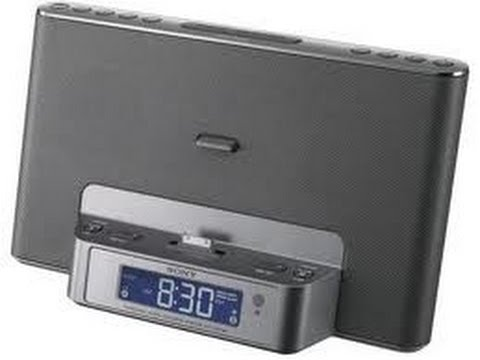 Sony Icf Cs15ip Speaker Dock Clock