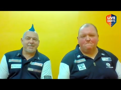 """Peter Wright and John Henderson: """"We can take care of Wales in the Semis – if they get that far"""""""