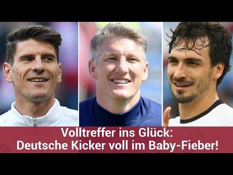 Volltreffer ins Glück: Deutsche Kicker voll im Baby-Fieber! | CELEBRITIES und GOSSIP
