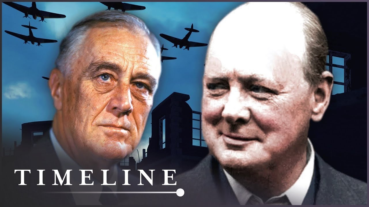 Warlords: Churchill vs Roosevelt (WW2 Leaders Documentary) | Timeline