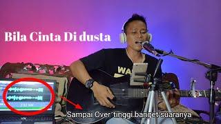Bila Cinta Di Dusta - Screen -(video lirik) cover Dadan Wijaya