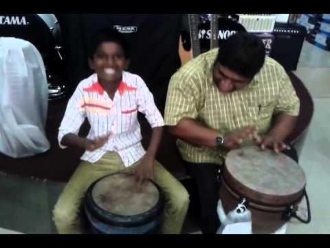 Amith Sir and Naresh Mhatre playing Zembe