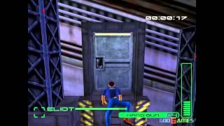 Blue Stinger - Gameplay Dreamcast HD 720P
