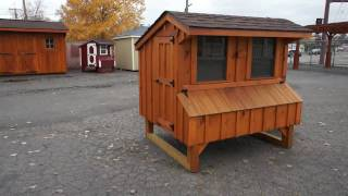 Backyard Unlimited's Chicken Coops