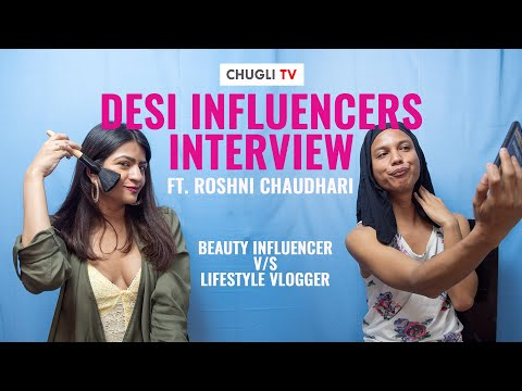 Desi Influencers News Interview Feat. Roshni Chaudhari | Republic Day Special | Chugli TV