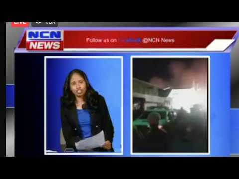 *BREAKING NEWS*  Guyana Camp Street Jail On Fire