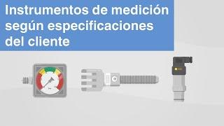 Presión, temperatura, fuerza | Instrumentos de medición WIKA según...
