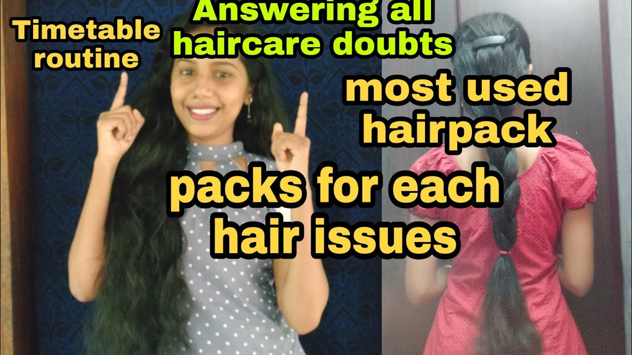 Answering all haircare doubts|Hairgrowth timetable|storable shampoo|Most fav Hairpack|Diy withswathy