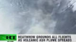 Iceland Volcano Eruption: Ash grounds flights in UK and Northern Europe