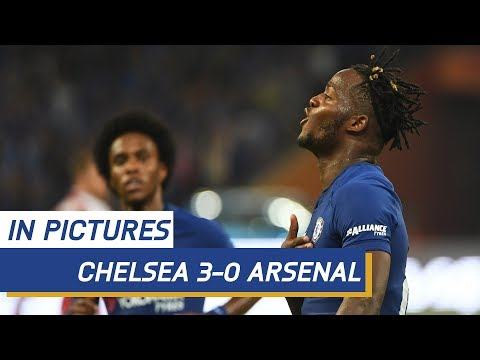 MATCH IN PICTURES: Chelsea v Arsenal