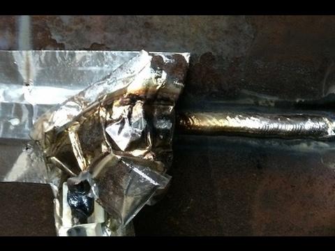 ceramic weld backing strip