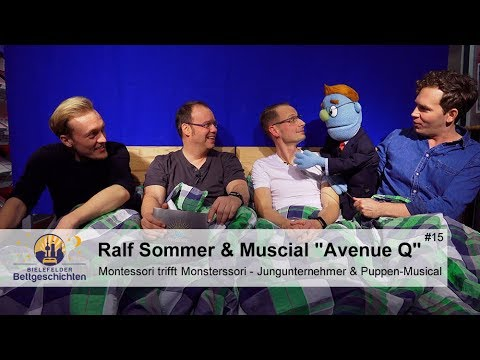 Jungunternehmer Ralf Sommer & Musical Avenue Q - Bielefelder Bettgeschichten - Folge 15