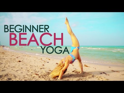 Beginner Beach Yoga, Build Up your Backbends with Kino