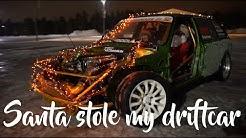 Santa stole my driftcar, Keski-Korpi Motorsport christmas