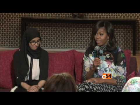 Michelle Obama Stops in Morocco As Part of #LetGirlsLearn Campaign