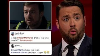 Coronation Street fans obsessed as Jason Manford's 'doppelganger' appears in Weatherfield