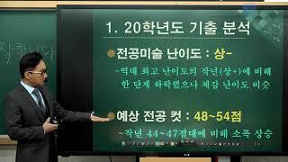 2021 임용시험대비 미술 최연식 설명회 - 1 영상(…