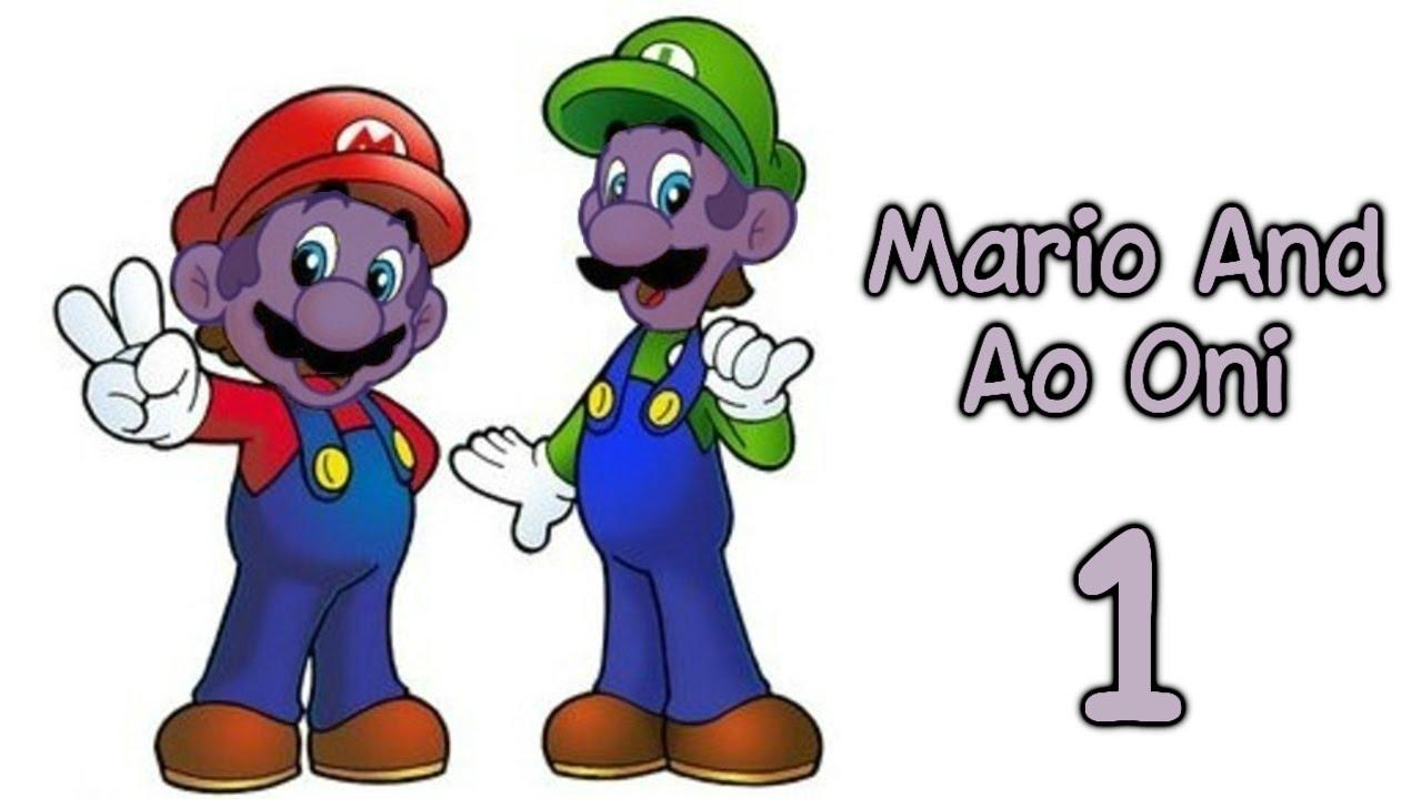 Прохождение Mario And Ao Oni [В Марио вселился злой крепыш ...