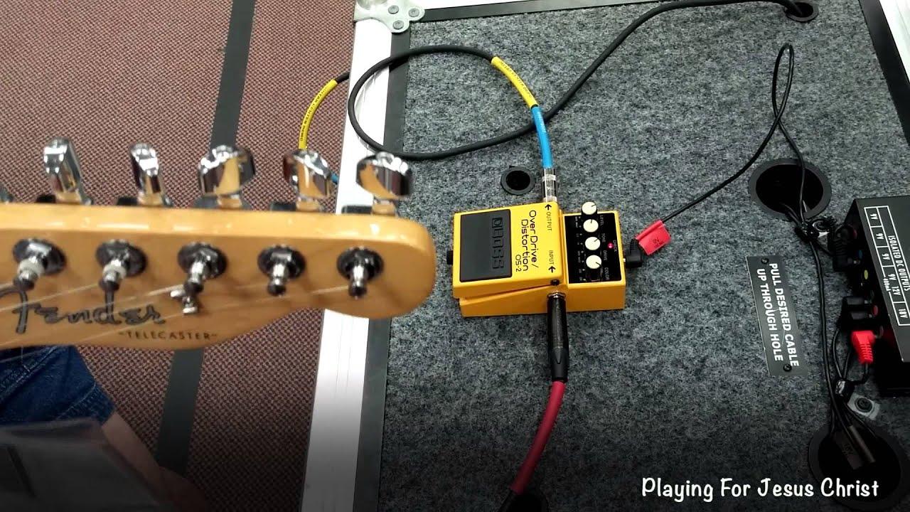 guitar center telecaster boss os 2 pedal youtube. Black Bedroom Furniture Sets. Home Design Ideas