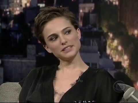 Natalie Portman - V for Vendetta - David Letterman 2006 2017