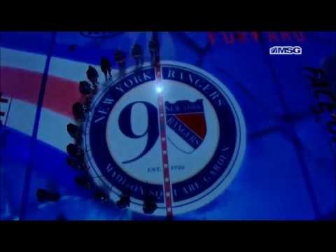 New York Rangers 2016-17 Home Opener Pregame Festivities
