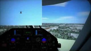 Agusta Westland AW109 Landing in Hamburg FSX