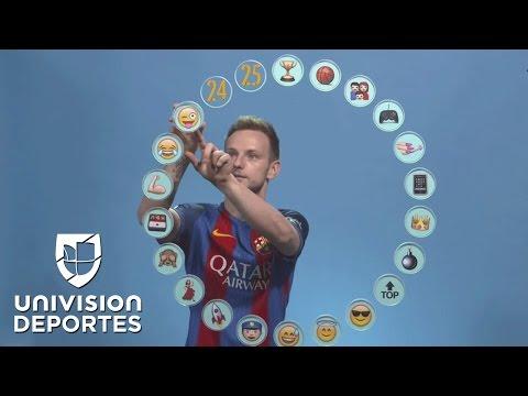 Iván Rakitic definió a cada uno de sus compañeros del Barcelona a través de emojis