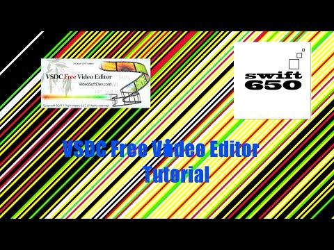 VSDC Free Video Editor - TUTORIAL - Deutsch/german SOUND / AUDIO EFFECTS / CUT #2